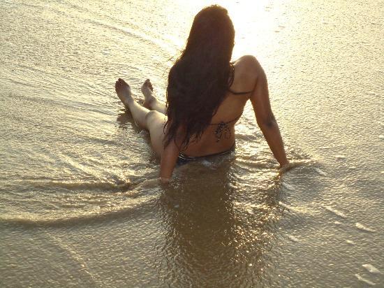 Agonda Beach: Genieten van het strand.