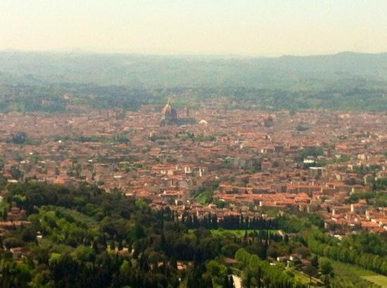 Fiesole, Italia: questo è lo splendido panorama che si gode dalla terrazza del ristorante