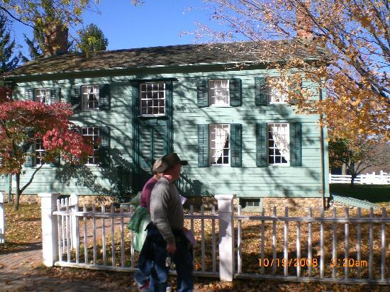 Genesee Country Village & Museum: another house at village