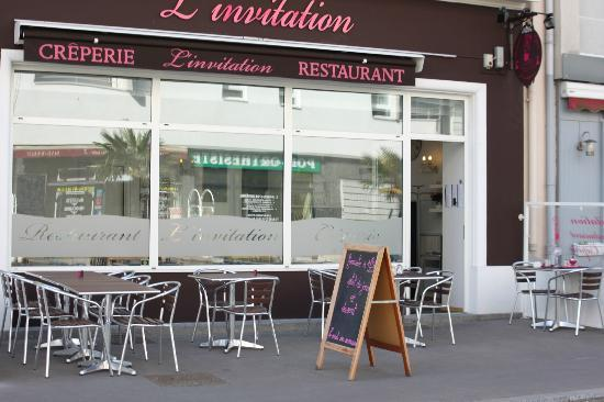 Restaurant L Invitation Saint Nazaire Carte