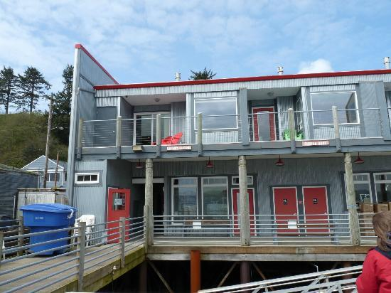 Anchor Pier Lodge: Exterior of Captains Quarters