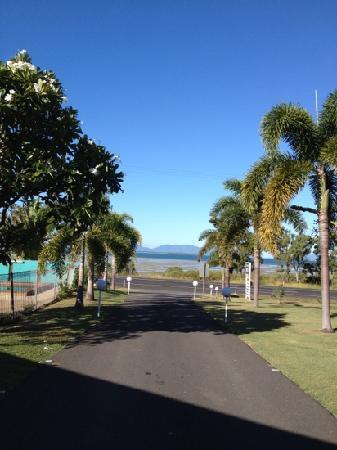 Ocean View Motel: Fantastic views, friendly service, great meals.