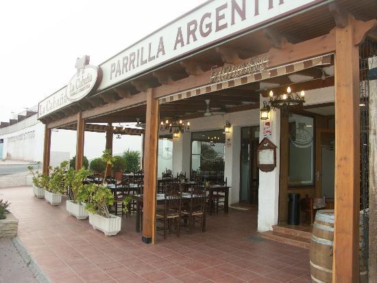 La Cabana Bar & Grill : La Cabaña Mojacar
