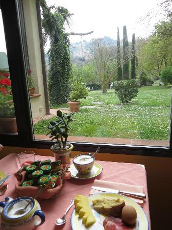 Relais San Bruno: View from breakfast