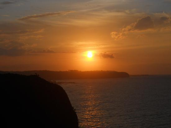 La Llave del Mar: Sunset View in the restaurant