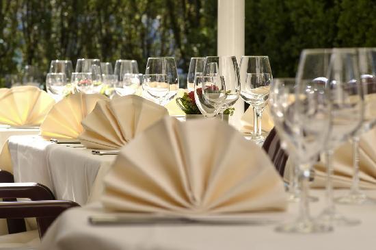 Schwanen Hotel: Terrasse