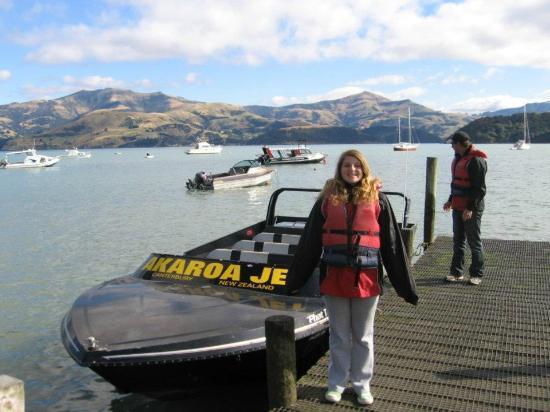 Akaroa Jet adventures: Jet Boat