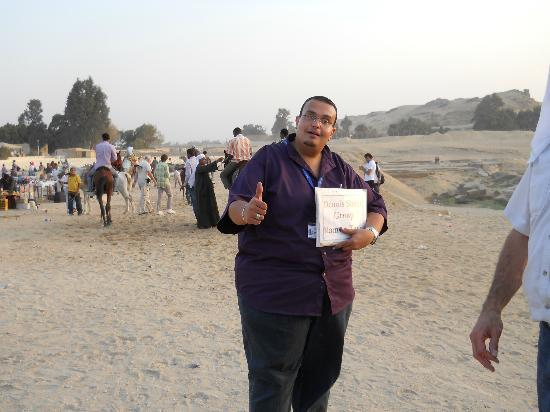 Ramasside Tours - Day Tours: Karim our great tourist guide!