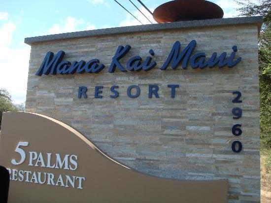 Mana Kai Maui: Resort