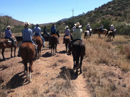 Circle Z Ranch: Stopping for a water break