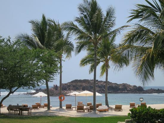 The St. Regis Punta Mita Resort: View from the family pool