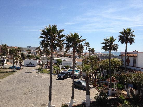 Castillos del Mar: view of the hotel