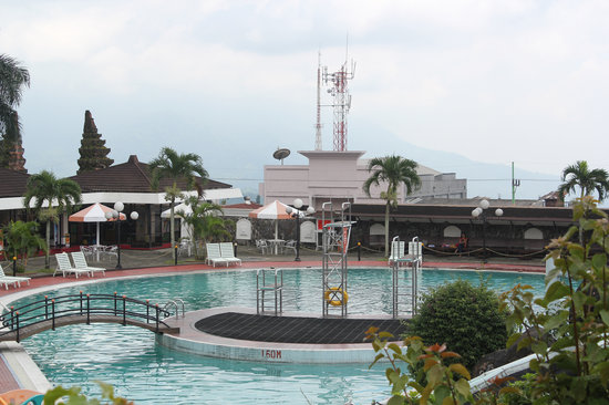Surya Hotel and Cottages: Swimming Pool