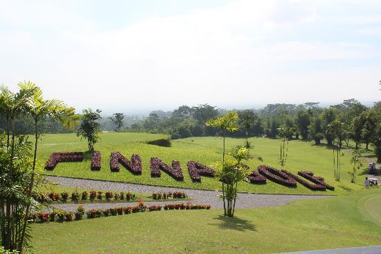 Finna Golf & Country Club Resort: View from hotel's restaurant