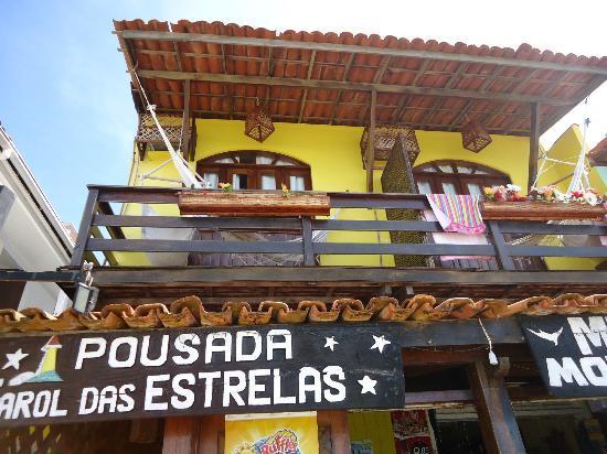 Pousada Farol das Estrelas: balcon