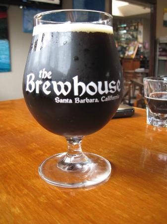 The Brewhouse: St. Barb's Dubbel in a tulip glass