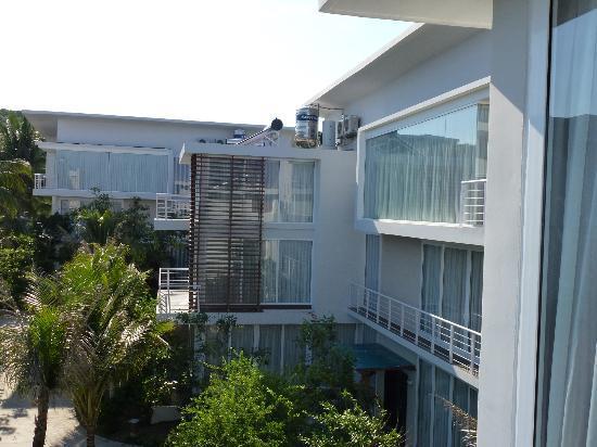 Villa Del Sol Beach Villas & Spa : View from our balcony