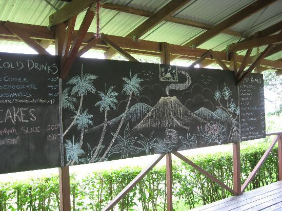 Tanna Coffee Roasting Factory: Coffee menu