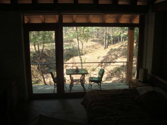 Sierra Vista Cabanas Mazamitla : View from inside