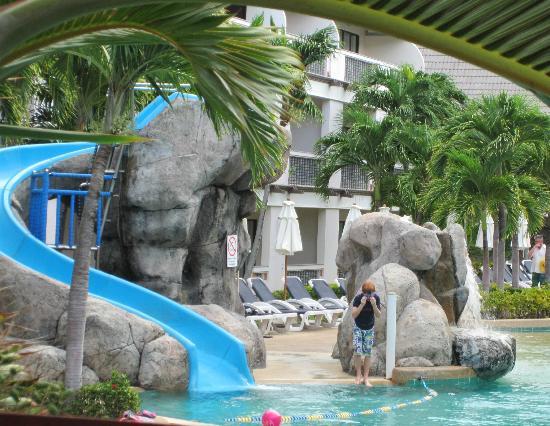Centara Kata Resort Phuket: Emerald Pool - with slide