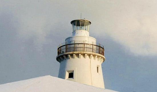 Cape Willoughby Lighthouse Keepers Heritage Accommodation : The Top Of the Light House