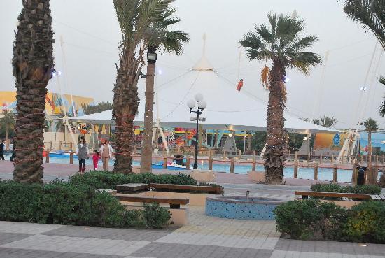 Adhari Park: main area