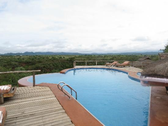 Escarpment Luxury Lodge: pool during the day