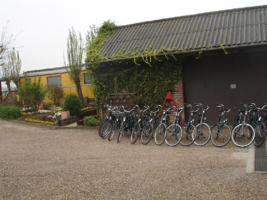 Hotel De Stokerij: hire bicycles