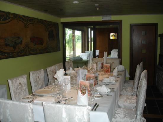 هوتل دي ستوكيريج: restaurant seminair