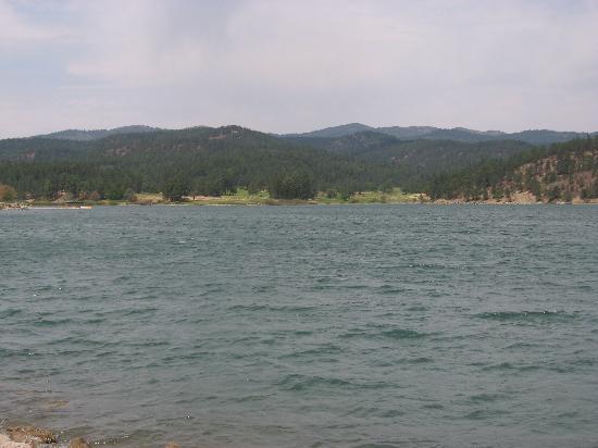 Mescalero Apache Reservation: Casino - lake