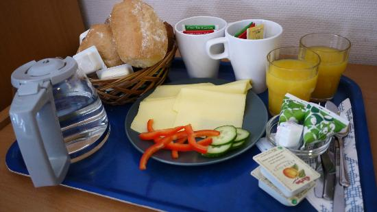 Hotel Bema : breakfast
