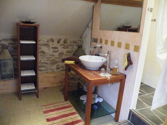 La vigne du pont : une partie de la salle de bain