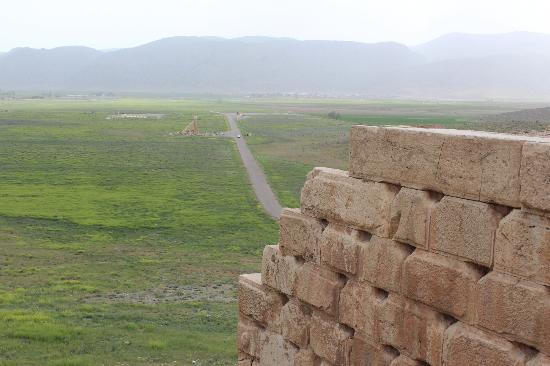 Pasargadae: Pasargade dal palazzo di Ciro
