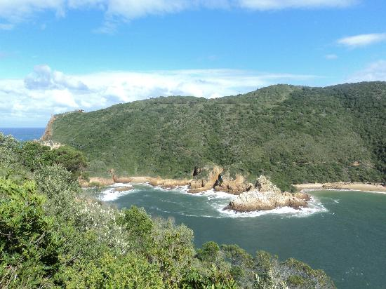 Lavender Hill Guest House: From the Knysna Heads, less than 10mins from the guest house