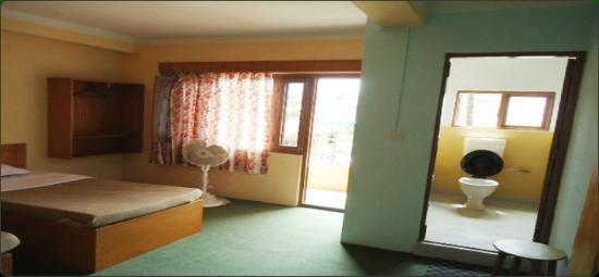 Hotel Nana : Double Bed Room with Private Balcony