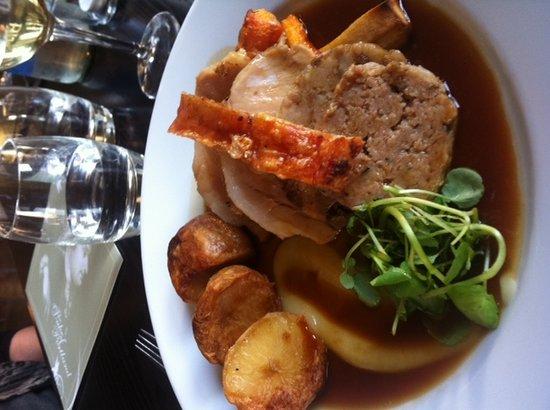 Northwich, UK: Locally Bred Roast Pork