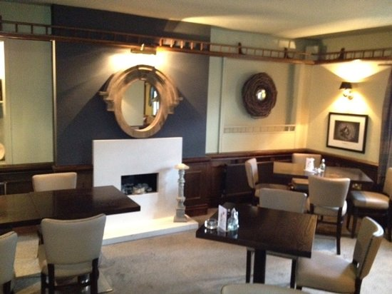 Northwich, UK: Fireside Dining area