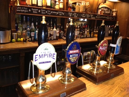 Northwich, UK: Great Selection of cask beers