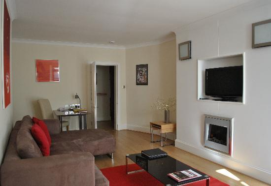 Dreamhouse Apartments Rothesay: Livingroom