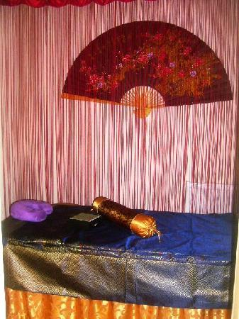 Silent Massage: Tastfully decorated