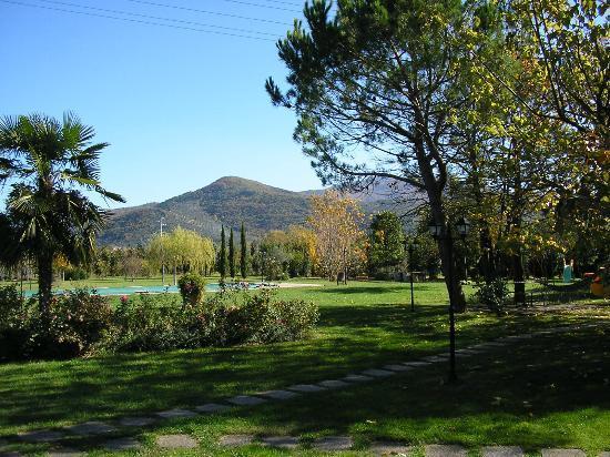 Agriturismo Villa Rosa: Il parco