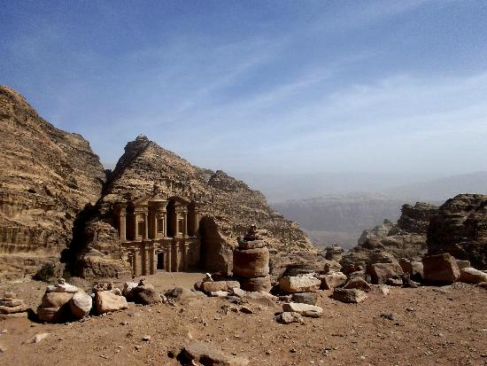 Pétra/Wadi Moussa, Jordanie : Ed-Deir