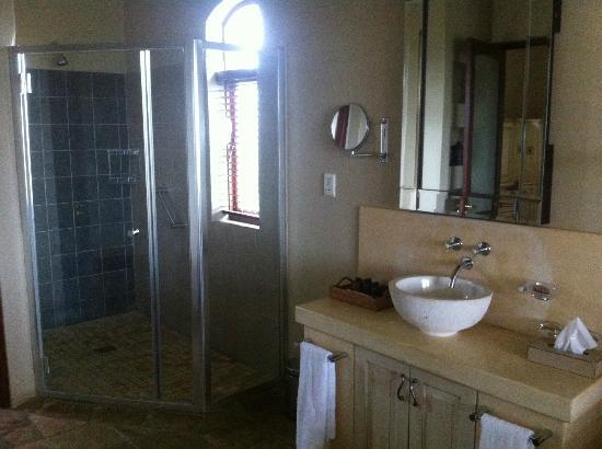 Sante Hotel & Spa: Shower in bathroom