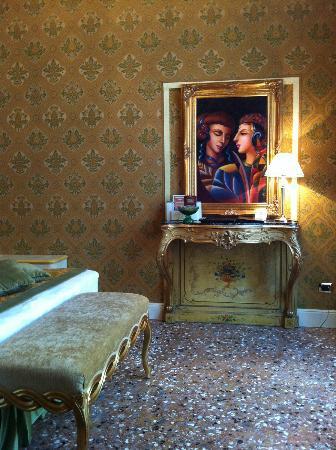 Palazzo Paruta: The room