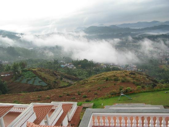 Sagar Holiday Resorts: view from balcony