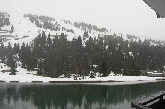 Mercure Courchevel : View from Balcony