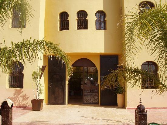 Riad Le Ksar de Fes : l'entrée principale