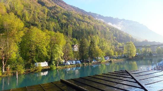 Hotel Du Lac: River view