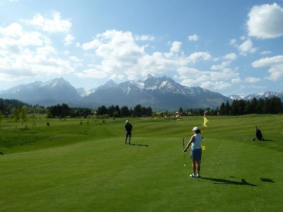 Hotel International: The golf course