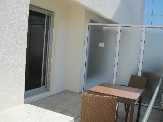 Hotel des Palmiers: Terrasse